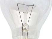 Transparentised version of Image:Gluehlampe 01 KMJ.jpg