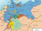 Karte des Norddeutschen Bundes 1866–1871 / Map of North German Confederation 1866–1871