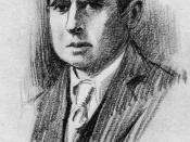 American writer Theodore Dreiser.