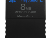 English: A Sony PlayStation 2 Memory Card with 8MB of memory.