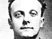 English: Sidney Fox (murderer), hanged in 1930 for the murder of his mother