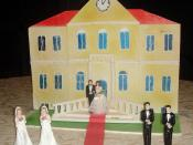 A symbolic marriage cake in favor of allowing gay marriages in Italy not only to heterosexual couples but to lesbian and gay ones as well. Picture by Giovanni Dall'Orto, January 26 2008.