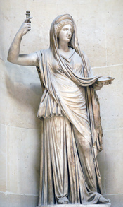 Hera Campana. Marble, Roman copy of an hellenistic original, 2nd century AD (?).