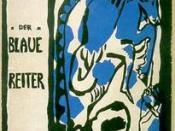 Cover of Der Blaue Reiter almanac, c.1912