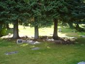 Grave markers of Ernest Hemingway & wife.JPG