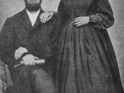 English: James and Ellen White, taken from http://www.timeoftrouble.com/advent-pics/james%20&%20ellen%20white.jpg and adjusted for contrast. Category:Images relating to the Seventh-day Adventist Church