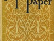 The Yellow Wallpaper, one of Gilman's most popular works, originally published in 1892 before her marriage to George Houghton Gilman