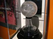 English: National Association of Basketball Coaches NCAA Championship Trophy