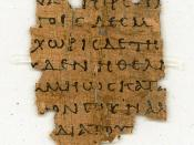 Papyrus 87 (Gregory-Aland), fragment of Epistle to Philemon