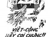 Propaganda leaflet urging the defection of NLF and North Vietnamese to the side of the Republic of Vietnam