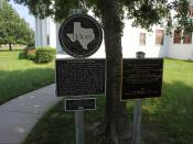 Sam Rayburn House, Bonham, Texas Historical Marker