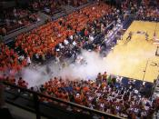 2007 Virginia Tech @ University of Virginia men's basketball at John Paul Jones Arena