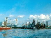 Houston Ship Channel - Charter Oil Refinery
