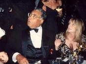 James Earl Jones at the Governor's Ball after the 43rd Annual Emmy Awards, 8/25/91