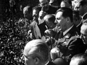Español: Perón dando un discurso