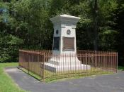 English: Braddock's Grave monument