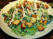 Caesar salad at Nichols Restaurant in Marina del Rey, California. :Comment: