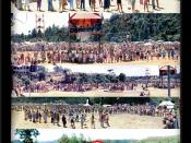 English: The 1981 Nambassa 5-day festival in .