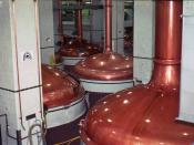 Brew Kettles at Coors Brewing Company Golden, Colorado