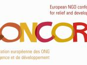English: This is the logo of CONCORD, the European NGO confederation of Relief and Development NGO's.
