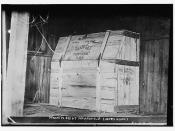 Dynamite box at Indianapolis, (Jones Barn)  (LOC)