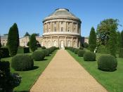 Ickworth House in Suffolk, England