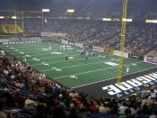 Arena football at Kansas City
