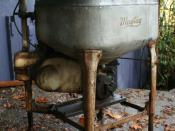 Antique Maytag washing machine.