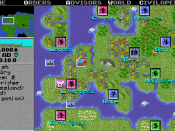 Civilization popularized the detailed empire management that has become a staple of 4X strategy games.