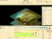 Configuring city resources in Civilization III.