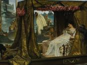 Antony and Cleopatra, by Sir Lawrence Alma-Tadema (1883)