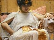 Cleopatra by John William Waterhouse (1888)
