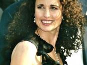 English: Andie MacDowell at the Cannes film festival