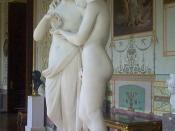 Cupid and Psyche, by Antonio Canova, c. 1808, in the Hermitage, Saint Petersburg.