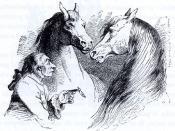 Česky: Gulliver u Hvajninimů, ilustrace