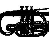 A drawing of a cornet from Webster's Dictionary 1911. فارسی: کورنت. Frysk: Cornet (út Webster's 1911 encyclopedy). Magyar: Vízszintes forma: kornett. Italiano: Cornetta in un disegno del 1911. Norsk (nynorsk): Teikning av ein kornett. Occitan : Un corne