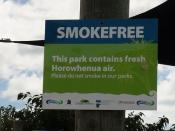 Smokefree Sign