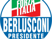 The logo of Forza Italia used in the 2006 electoral campaign