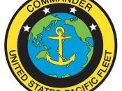 English: Logo of the U.S. Navy's Pacific Fleet
