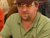 English: Chris Moneymaker at the 2006 World Series of Poker