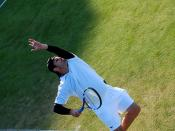 Roddick serve