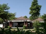 Sabarmati Ashram, one of the homes of Mohandas Karamchand Gandhi. Ahmedabad suburb of Sabarmati, India.