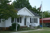 English: Swepsonville, North Carolina town hall.