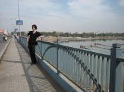 bruno on the bridge