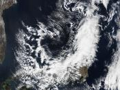 NASA Satellite Image of Japan Captured March 11, 2011