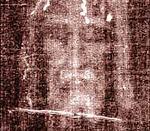 Русский: Спас Отпечаток лика Христа на Туринской плащанице