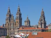 Cathedral of Santiago de Compostela, Santiago de Compostela, Galicia.
