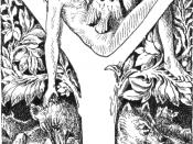 Mowgli, the namesake of Mowgli Syndrome, was a fictional feral child in Rudyard Kipling's The Jungle Book