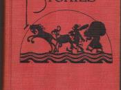 Cover of 1922 edition of Rootabaga Stories, by Carl Sandburg