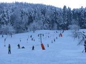 English: Winter sport area Föhrlimatt in Wegenstetten, Aargau, Switzerland Deutsch: Wintersportgebiet Föhrlimatt in Wegenstetten, Aargau, Schweiz